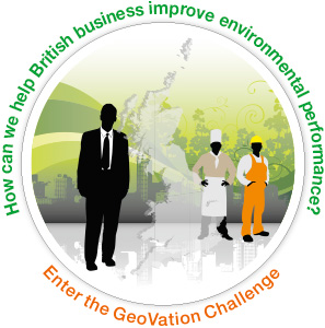 How can we hlep British Business improve environmental performance? Geovation Image