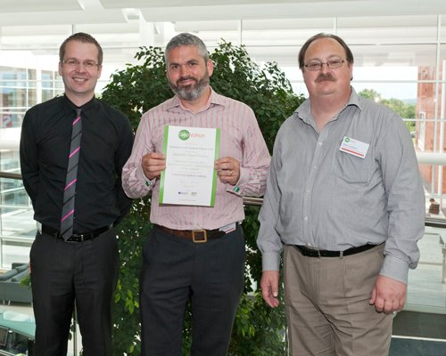 image of Community Payback Visibility Team with certificate