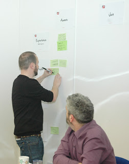 photo of service design workshop