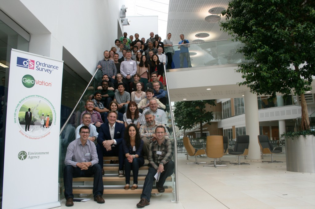 GeoVation group photo