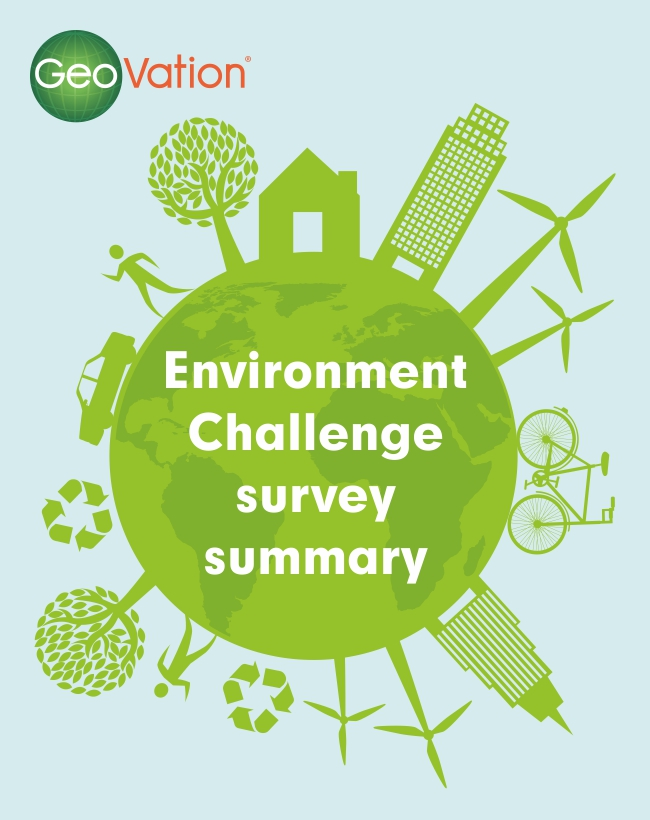 Environment GeoVation Challenge survey image