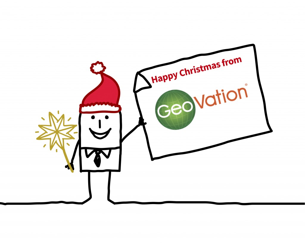 Happy Christmas from GeoVation