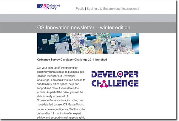 Preview of Developer Challenge email