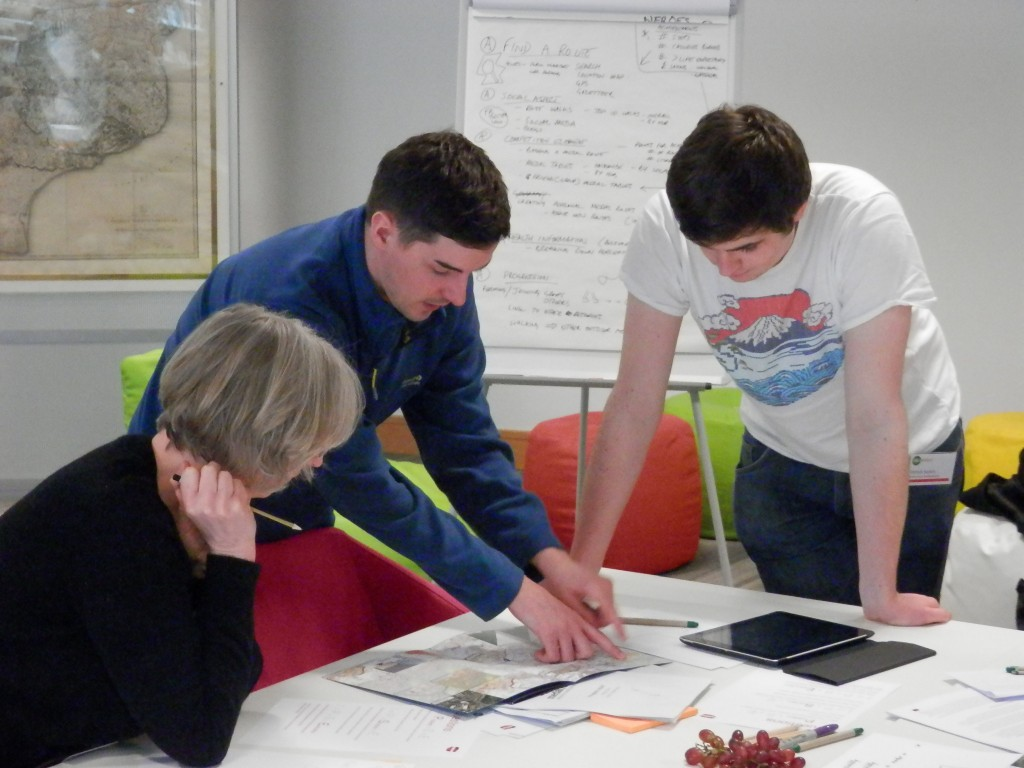 Helping medal routes develop their ideas