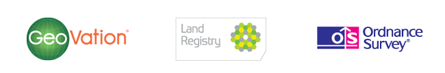 GeoVation, Land Registry and Ordnance Survey Logos