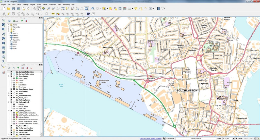 OS Open Map Local in QGIS