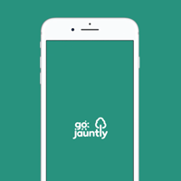 GoJauntly on iOS device